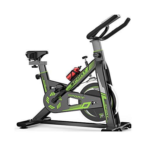 Bicicleta Spinning Profesional,Bicicleta Estatica LCD Pantalla Electronica Sensor de Frecuencia Cardiaca,Resistencia Variable...