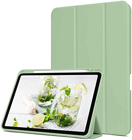 BENTOBEN iPad Air 4 10 9 Case 2020 with Pencil Holder Premium Protective Case Slim Trifold Stand product image