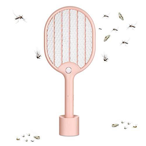 JXCAA Matamoscas De Abejas Eléctrico, Repelente De Insectos, Matamoscas De Mosquitos Eléctrico...