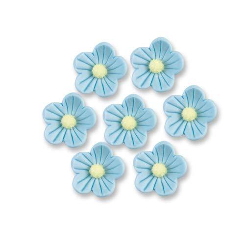 Günthart hellblau Zuckerblumen | Inhalt 12 Stück