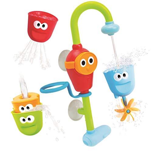 Yookidoo flow 'n' fill - Juguetes de baño de Bebés, Multicolor (40116)