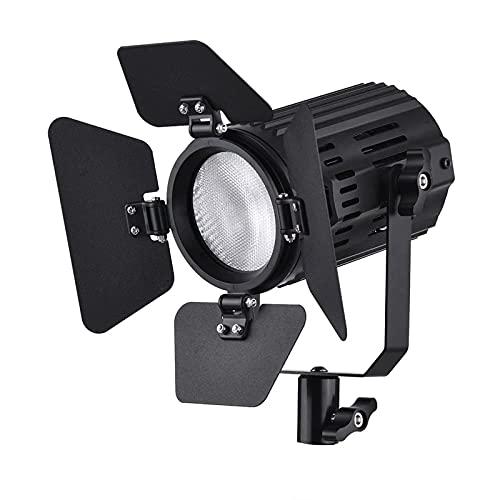 Zhicaikeji Luz de Video LED LED Video Ligero 5600k Kit De Iluminación De Fotografía Regulable para Grabación de Video (Color : Black, Size : One Size)