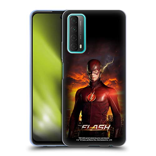 Head Case Designs Oficial The Flash TV Series Barry Stand Pose Póster Carcasa de Gel de Silicona Compatible con Huawei P Smart (2021)