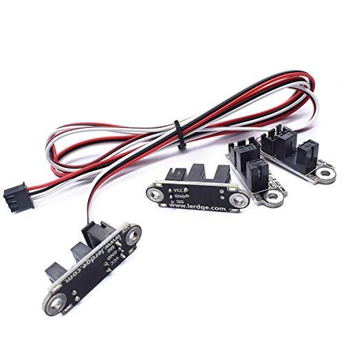 Accessori per stampanti 3D Contagiri ottico Interruttore di controllo della luce di fine corsa Modulo interruttore del sensore fotoelettrico con cavo da 1 m Parti della stampante