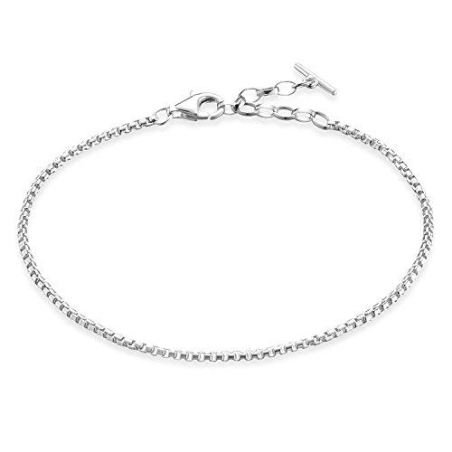 THOMAS SABO Damen-Armband Glam und Soul 925 Sterling Silber Länge 16.5 bis 19 cm - A1561-001-12-L19,5v