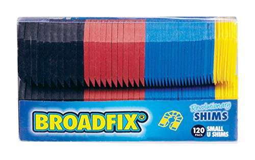Broadfix Revolutionary Small U Shims - 120 Pack