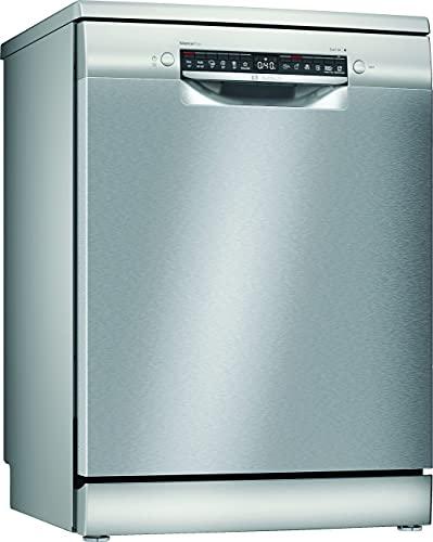 Bosch Elettrodomestici SMS4EVI14E Serie 4, Lavastoviglie da libero posizionamento, 60 cm, color inox