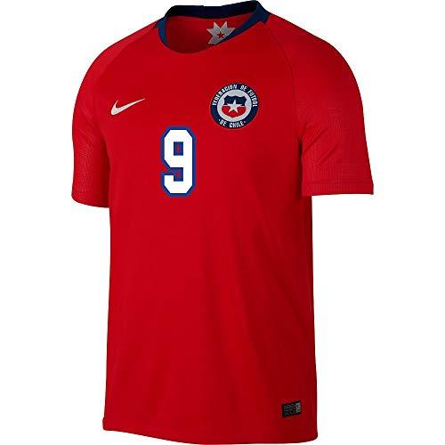 Nike Chile Home Zamorano 9 Jersey 2018 2019 (Gallery Style Printing), Uomo, Sandali Adventure Seeker, punta chiusa - T - Bambini, Medium