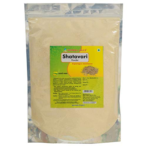 Herbal Hills Shatavari Powder (Asparagus racemosus) - 1kg, Female health tonic