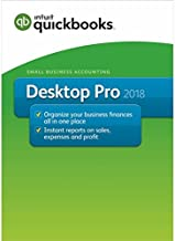 Intuit QuickBooks PRO 2018 - Retail Green Box Package - Authentic Intuit Product