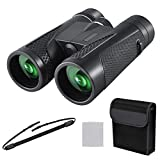 10x42 Binoculars for Adults, iKALULA Powerful Binoculars with Clear Low Light Night Vision, Waterproof Compact Binoculars for Bird Watching Hunting Sports Concerts with BAK4 Prism FMC Lens