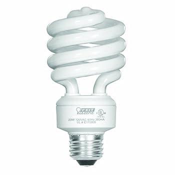 Feit Electric 23-Watt Compact Fluorescent Mini Twist  100-Watt Incandescent Equivalent  Daylight