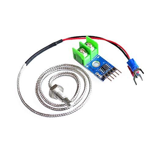 #N/V Max6675 E-Type termopar sensor de temperatura termómetro módulo de temperatura kit de placa sonda para bricolaje electrónico 0℃-1024℃