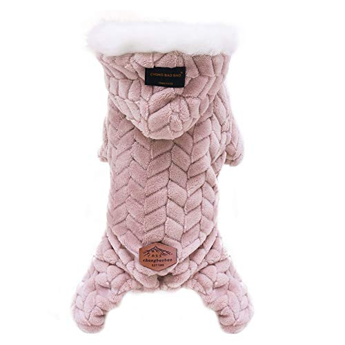 Fineday Pet Clothing Polyester Hoodied Sweatshirts Dog Cat Clothes Plus Plush, Pet Clothes, for Dogs and Cats (PKL2)