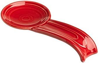 product image for Fiesta 8-Inch Spoon Rest, Scarlet