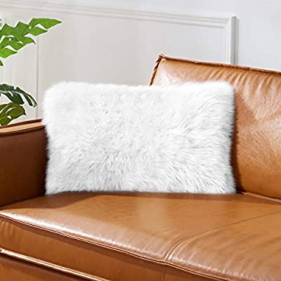 TGOOD 2 PCS Double-Sided Faux Fur Christmas Win...