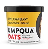 Umpqua Oats All Natural Oatmeal Cups, Apple Cranberry, 2.58 ounce, 12 Count