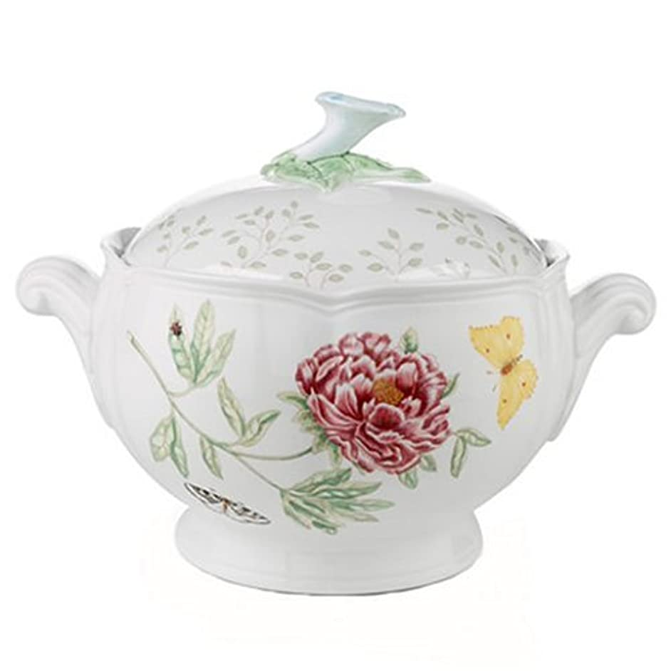 Lenox Butterfly Meadow Round Covered Casserole, 2 piece