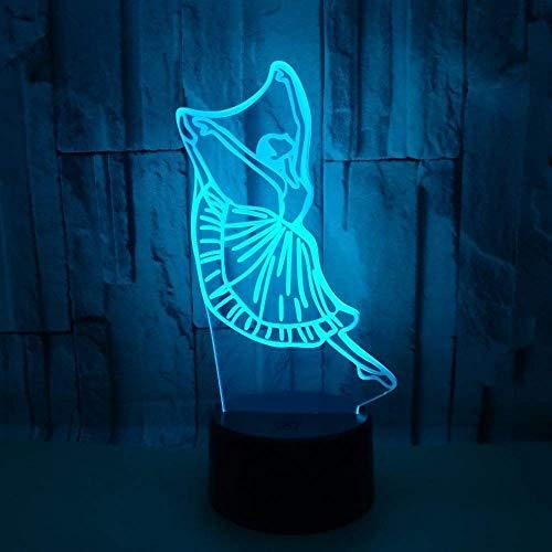 Dimbaar 3D Led Licht Creatieve Kleuterschool School Bank Gift Bestellen Bureau 3D Lamp USB Led Nachtlampje
