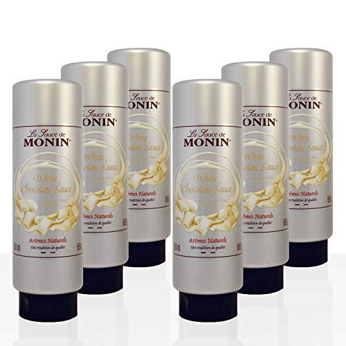 Monin - White Chocolate Sauce - 500ml (Case of 6)