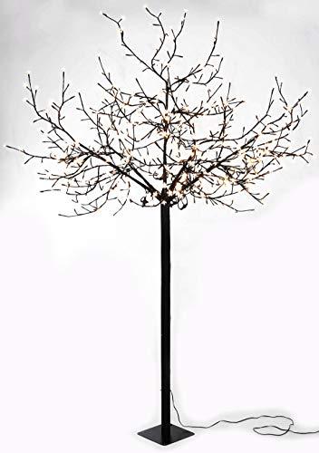 Spetebo LED Kirschblütenbaum mit 600 LEDs - 250cm - für Innen und Außen - warmweiß