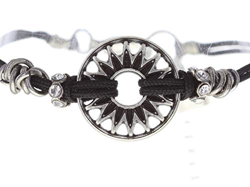 Konplott Festival Bracelet | Armband Exklusiver Designer-Modeschmuck mit Swarovski Elements | Armband mit Glitzer-Steinen in Weiß