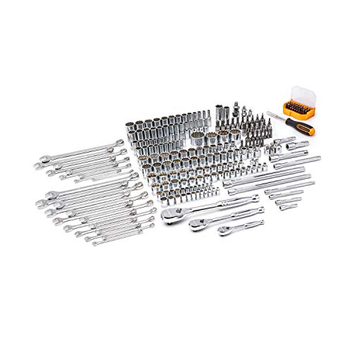 GEARWRENCH 243 Pc. 12 Pt. Mechanics Tool Set in 3 Drawer Storage Box - 80972