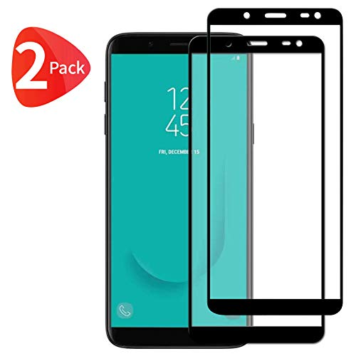 TBOC 2X Protector Pantalla 5D para Samsung Galaxy J6 (2018) J600F (5.6