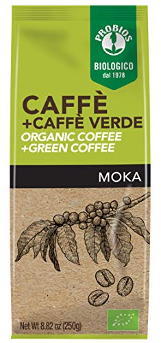 Probios Caffè Bio Con Caffè Verde - 250 g