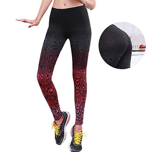 YUJIAKU Yoga broek/strak/Koop Yoga Broek Vrouwen Leggings Verloopkleur Hoge taille Stretched Kleding Fitness Yoga Grappige 3D Gedrukte Broek Gym Leggings