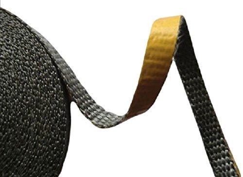 Dichtband selbstklebend für Kamine & Öfen (schwarz)