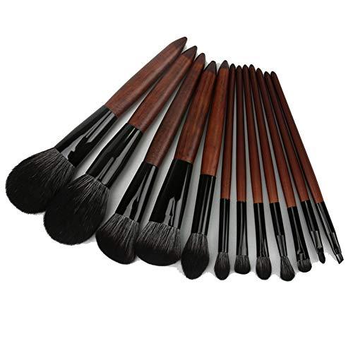 Nuevas escobillas de la herramienta 12 de maquillaje para cejas Loose Powder Blush Corrector de alto brillo sombra de ojos, suave y no es fácil de deformar