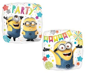 Valueballoon Despicable Me Minion 18'' Balloon Birthday Party Decorations Supplies