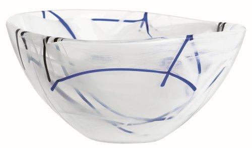 Kosta Boda Contrast Bowl Small White