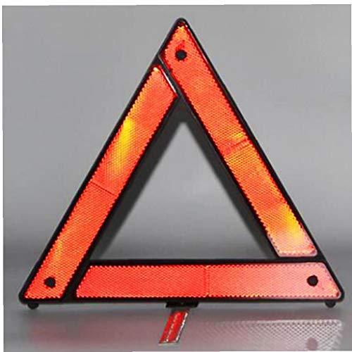 Case Cover 1pc Auto Notfall Warndreieck Fold Up Reflective Abschleppdienst Warnung Sicherheitsdreieck Stoppschild