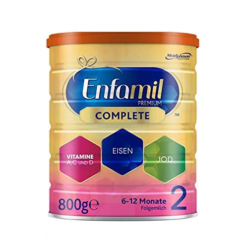 Enfamil Premium Complete 2 Folgemilch Pulver 800 g - Folgemilch für Säuglinge im Alter von 6 bis 12 Monaten