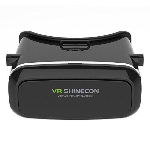 PYRUS VR auricolare, 3D VR occhiali per i giochi PC / film / xbox con Bluetooth Remote Realtà Virtuale per 4 ~ 5,7 pollici smartphone per i film 3D / giochi (VR Headset...
