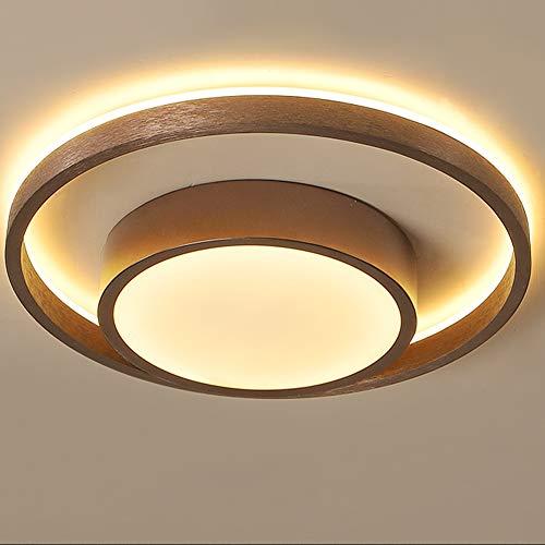 Lámpara de techo LED para dormitorio,moderna y sencilla,lámpara de techo redonda regulable con control remoto,blanco frío,blanco neutro,luz blanca cálida,protección para los ojos,sala para niños,Bø40