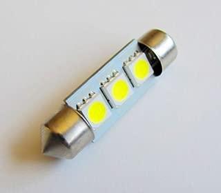 Pack of 4 Bulbs 1.2 Watt 12 Volt 6000K White CBConcept 4X42mm6SMD-CW 42mm 1.72 High Power 6 SMD LED Festoon Dome Bulb 120 Lumen