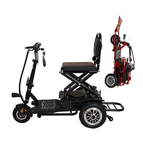 Mini portátil de pequeño tamaño eléctrica plegable triciclo adecuado para los ancianos...