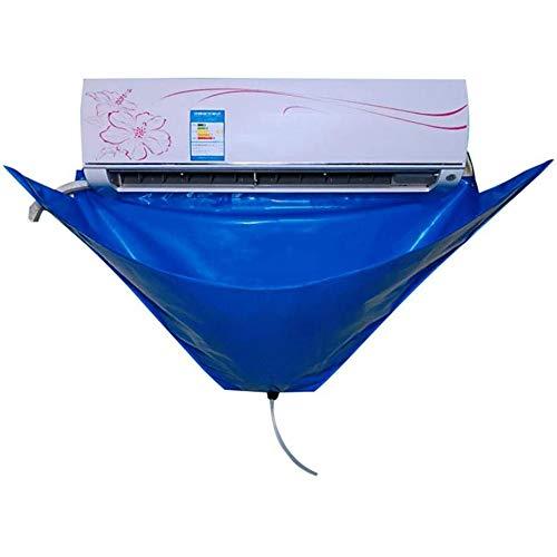 VBARV Cubierta de Limpieza de Aire Acondicionado con Agua de tuberías, Acondicionador de Aire de Limpieza Limpiar cuidadosamente Bolsa Kit, a Prueba de Agua, Velocidad Limpio, aparatos de Aire