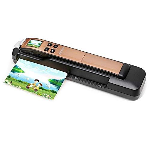 THINKMIC Tragbarer Scanner 2L 0 Rand, Handgerät, Automatischer Zufuhr metallisch