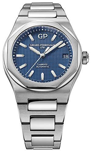 Girard Perregaux Laureato 42mm Mens Watch (Blue)