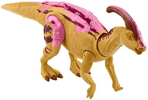 Jurassic World Dinosauro Allosaurus Colpisci e Ruggisci Articolato, con Suoni, Giocattolo per Bambini 4+ Anni, GMC96