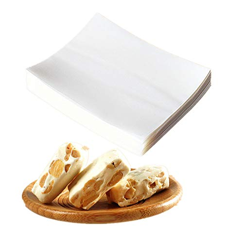 PANMLY Candy and Chocolate Making - Glutinous Rice Paper, 2.56x3.15 Inches(6.5x8 cm) (400 Sheets)