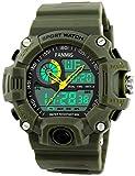 Mens Analog Digital Dual Display Sports Watches Military...