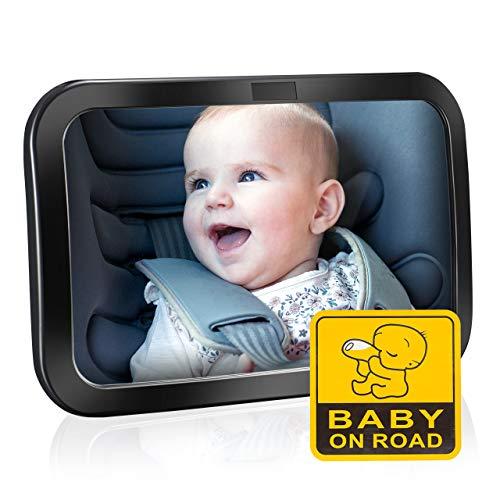 Espejo retrovisor para ver al bebé a contramarcha