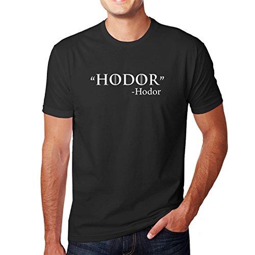 Planet Nerd GoT: Zitat - Herren T-Shirt, Größe L, schwarz