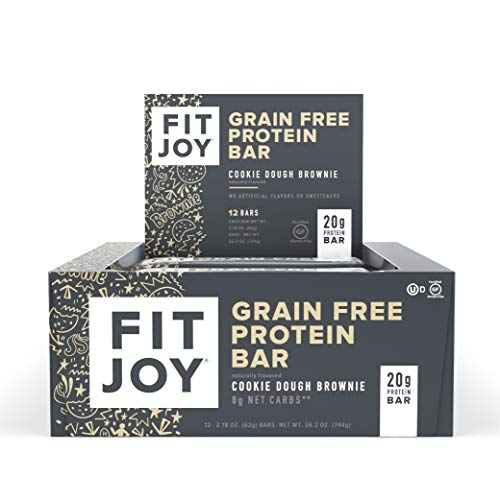 FitJoy Protein Bars, Cookies Dou...