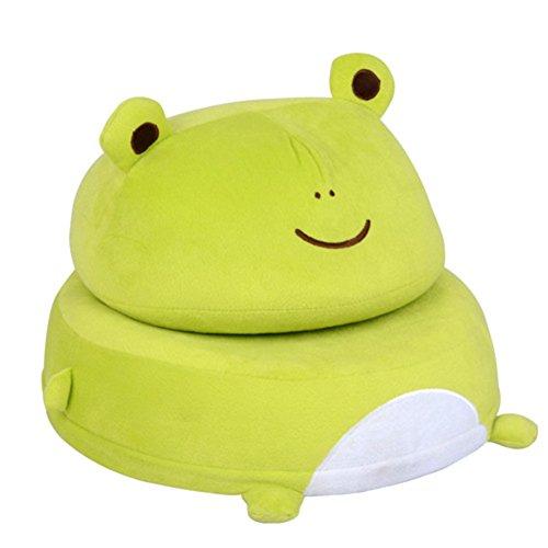 PeiQiH Niño Mini sofá,Perezosa Silla,Asiento de bebé Encantador Animal Plegable Sofá pequeño Individuales Asiento-E 40x40x26cm(16x16x10)